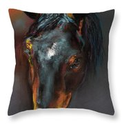 Vinnie Mustang Love Throw Pillow