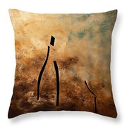 Vino De Arte Moderno Throw Pillow