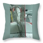 Vintage Airplane Four Throw Pillow
