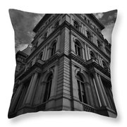 Vintage Albany Throw Pillow
