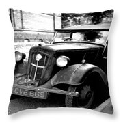 Vintage Autocar II Throw Pillow