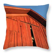 Vintage Barn Aglow Throw Pillow