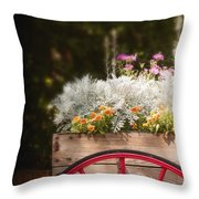 Vintage Beauties For Sale Throw Pillow
