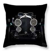Vintage Bentley 4.5 Liter Throw Pillow