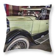 Vintage Bugatti  Throw Pillow