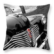 Vintage Buick 8 Throw Pillow