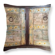Vintage Cabinet Throw Pillow
