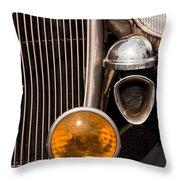 Vintage Car Details 6294 Throw Pillow
