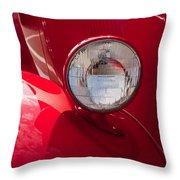 Vintage Car Details 6298 Throw Pillow