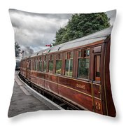 Vintage Carriages Throw Pillow