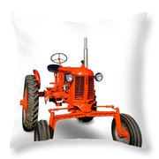 Vintage Case Tractor Throw Pillow