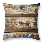 Vintage Chest Of  Drawers Throw Pillow