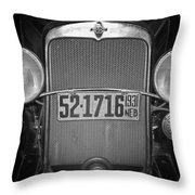 Vintage Chevrolet Grill Throw Pillow