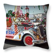 Vintage Chevrolet In Seligman Throw Pillow