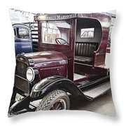 Vintage Chevrolet Pickup Truck Throw Pillow