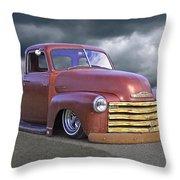 Vintage Chevy 1949 Throw Pillow