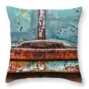 Vintage Chevy Rust  Throw Pillow