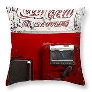 Vintage Coca Cola Throw Pillow