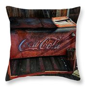 Vintage Coca-cola Throw Pillow