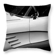 Vintage Corvette 4b Throw Pillow