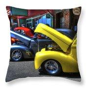 Vintage Cruise Cars 7 Throw Pillow