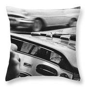 Vintage Dashoard Throw Pillow