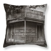 Vintage D'hanis Texas Business Throw Pillow