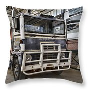 Vintage Dodge Truck Throw Pillow