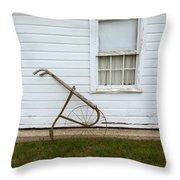 Vintage Farm Tool By Farmhouse Throw Pillow