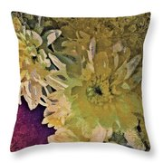 Vintage Flower Tapestry Throw Pillow
