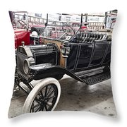 Vintage Ford Motor Vehicle Throw Pillow