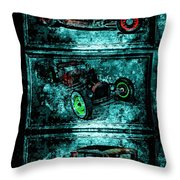 Vintage Hotrods Throw Pillow