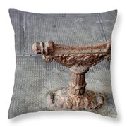 Vintage Iron Work Throw Pillow
