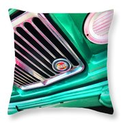 Vintage Jeep - J3000 Gladiator By Sharon Cummings Throw Pillow
