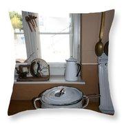 Vintage Kitchenware Throw Pillow