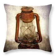 Vintage Lantern Throw Pillow