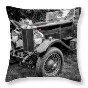Vintage Mg Throw Pillow