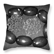Vintage Night Out Throw Pillow by Catherine Ratliff