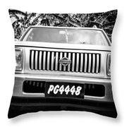 Vintage Nissan Throw Pillow