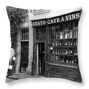 Vintage Paris 13b Throw Pillow