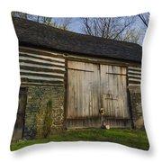Vintage Pennsylvania Barn Throw Pillow