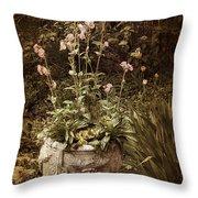 Vintage Planter Throw Pillow