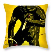 Vintage Poster - Germany - Down With Bolshevism Throw Pillow by Benjamin Yeager