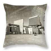 Vintage Power Throw Pillow