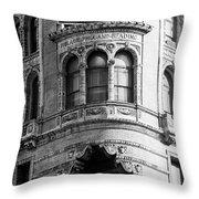 Vintage Reading Terminal Market - Philadelphia Throw Pillow