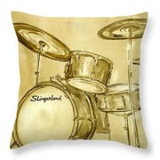 Vintage Slingers Throw Pillow