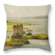 Vintage Stalker - D002482-a Throw Pillow