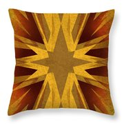 Vintage Star Throw Pillow