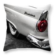 Vintage Ford Thunderbird Throw Pillow