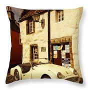 Vintage Touch. Culross Sketches. Scotland Throw Pillow